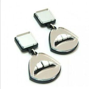 Lip earrings